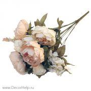Пионы букет , искусственные цветы для свадебного декора