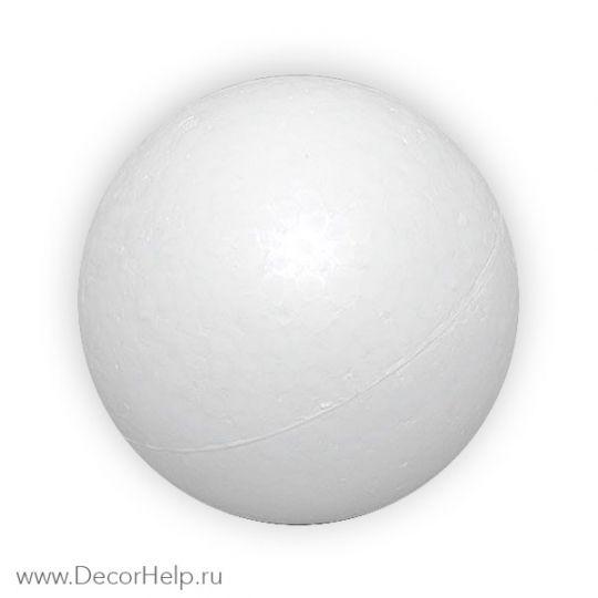 заготовка из пенопласта шар