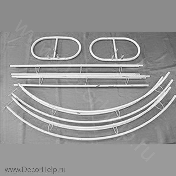 Виноградная арка из различных видов труб своими руками