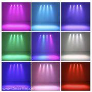 led par, led прожектор, светодиодный прожектор, архитектурный свет, аплайтинг, лед пар, rgb